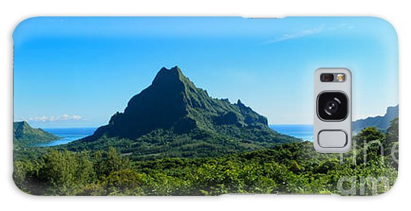 Tropical Moorea Panorama Galaxy Case by IPics Photography