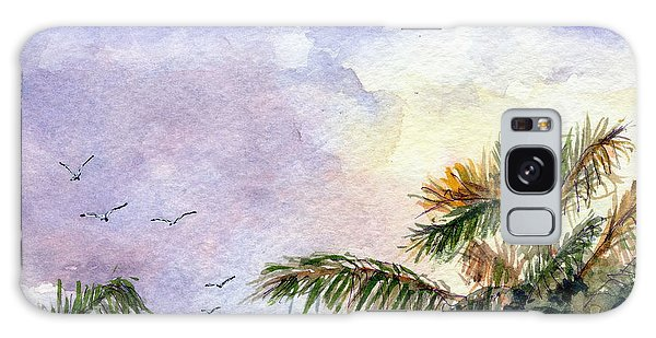Tropical Morning Galaxy Case