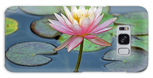 Tropical Pink Lily Galaxy Case
