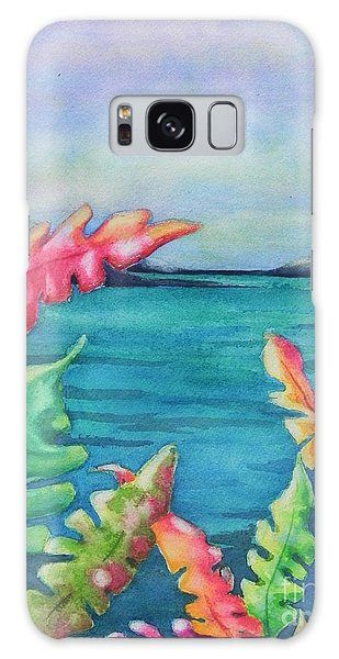 Tropical Scene Galaxy Case by Chrisann Ellis