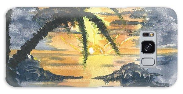Tropical Sun Galaxy Case