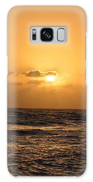 Tropical Sunset In Kauai Galaxy Case by P S