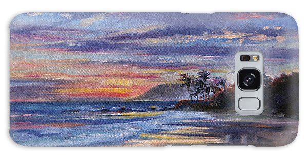 Tropical Sunset Galaxy Case by Jennifer Beaudet