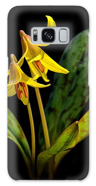 Trout Lilies Galaxy Case
