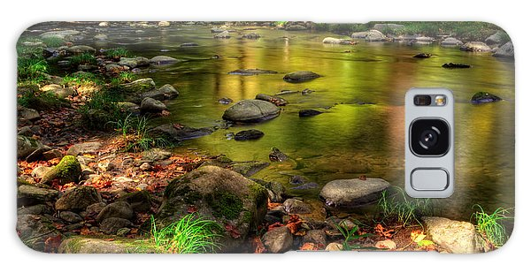 Trout Waters In Fall Galaxy Case
