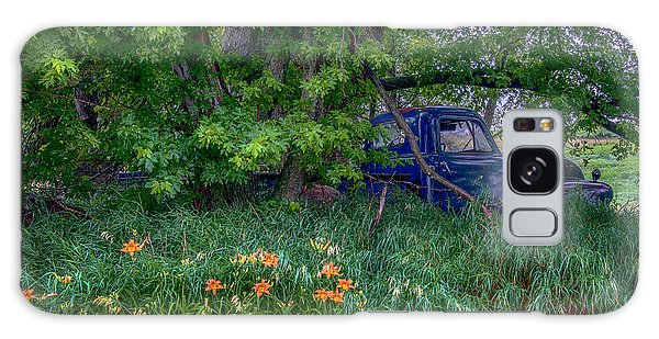 Truck In The Forest Galaxy Case by Paul Freidlund