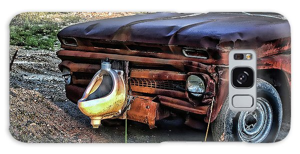 Truck With Benefits Galaxy Case by Ron Roberts