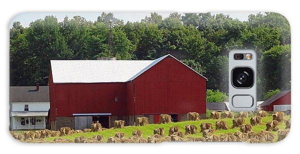 True Amish Farm Galaxy Case