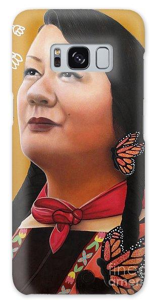 True Beauty - Jenny Blackbird Galaxy Case by Malinda Prudhomme