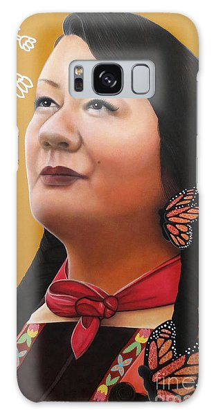 True Beauty - Jenny Blackbird Galaxy Case