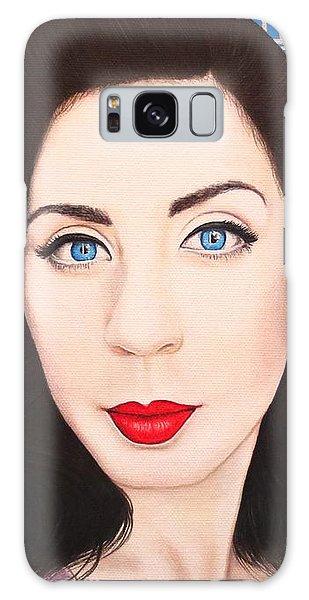 True Beauty - Lisa Boros Galaxy Case by Malinda Prudhomme
