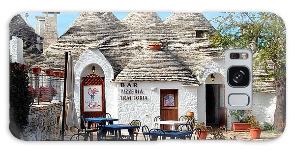 Trulli Outdoor Trattoria Galaxy Case