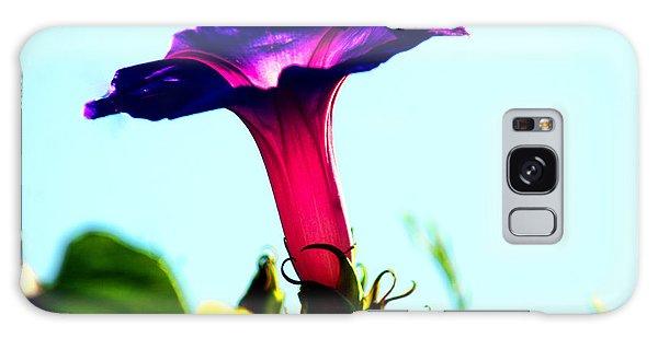 Trumpet Flower Galaxy Case