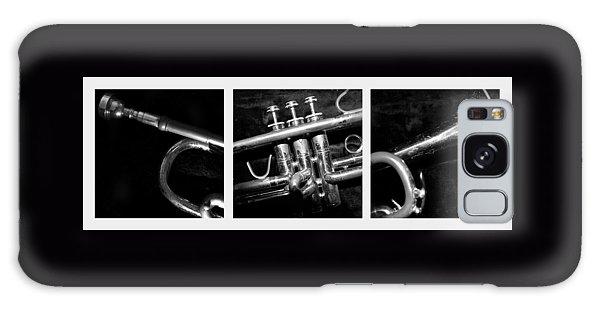 Trumpet Triptych Galaxy Case
