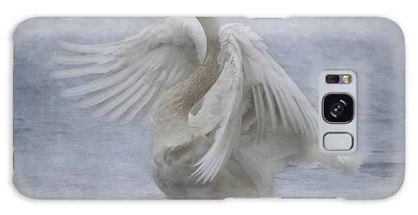 Trumpeter Swan - Misty Display Galaxy Case