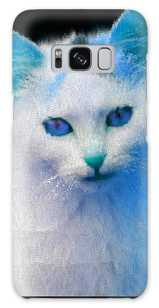 Trust In My Blue Galaxy Case by Holley Jacobs