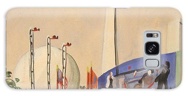 Trylon And Perisphere Worlds Fair 1939 Galaxy Case