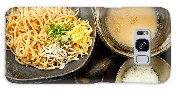 Galaxy Case featuring the photograph Tsukemen by Brad Brizek