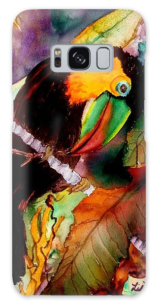 Tu Can Toucan Galaxy Case by Lil Taylor