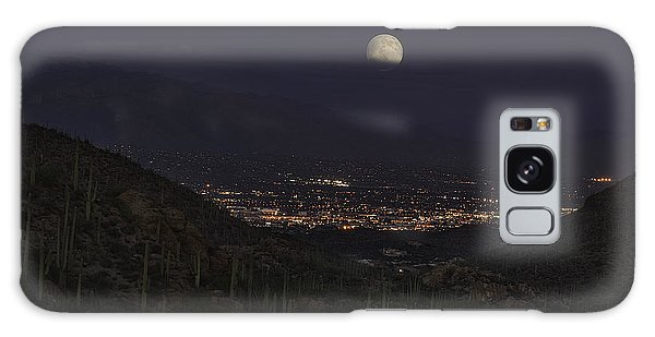 Tucson At Dusk Galaxy Case