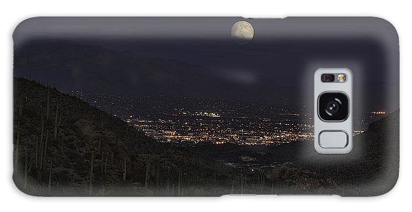 Tucson At Dusk Galaxy Case by Lynn Geoffroy