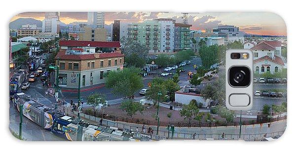Tucson Streetcar Sunset Galaxy Case