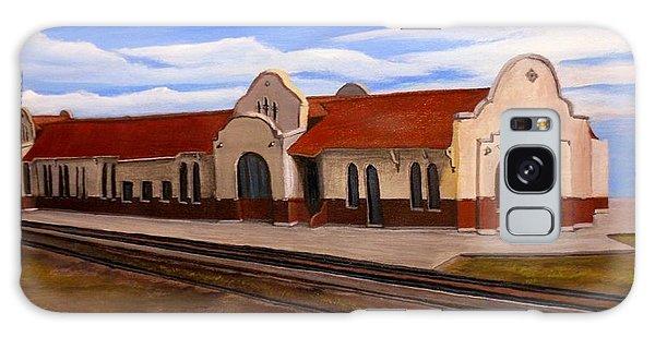 Tucumcari Train Depot Galaxy Case by Sheri Keith