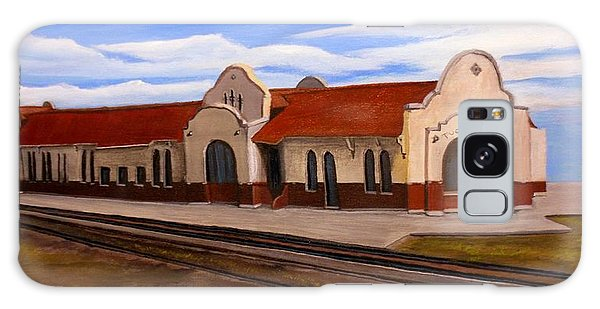 Tucumcari Train Depot Galaxy Case
