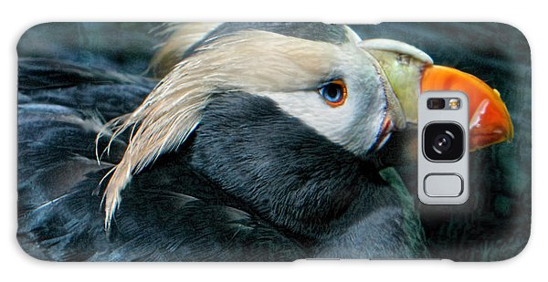 Tufted Puffin Profile Galaxy Case