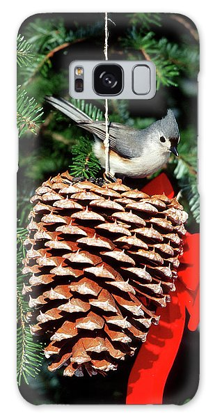 Titmouse Galaxy S8 Case - Tufted Titmouse (baeolophus Bicolor by Richard and Susan Day