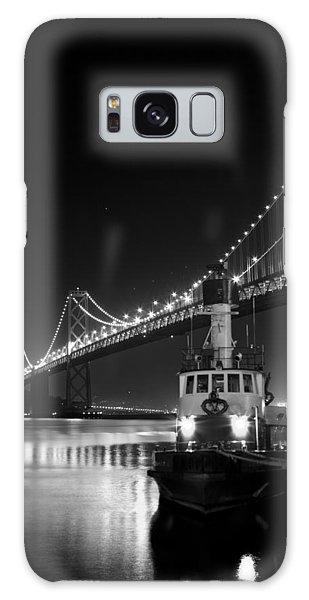 Tugboat Under The Bay Bridge Galaxy Case