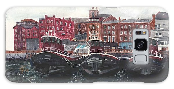 Tugboats Of Portsmouth Galaxy Case