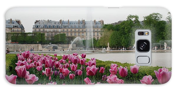 Tuileries Garden In Bloom Galaxy Case