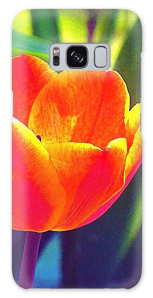 Tulip 2 Galaxy Case by Pamela Cooper