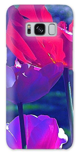 Tulip 3 Galaxy Case by Pamela Cooper