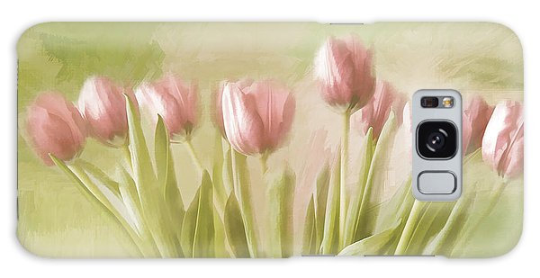 Tulip Bouquet Galaxy Case by Linda Blair
