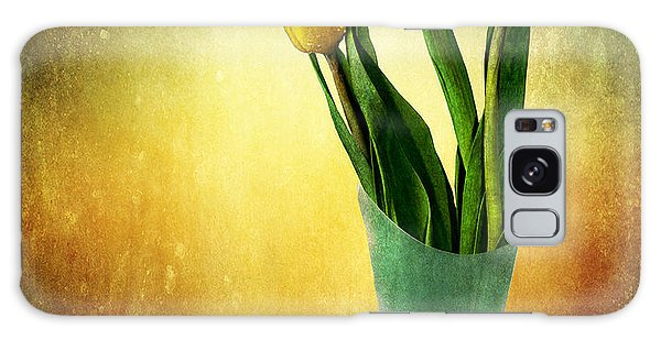 Tulip Bouquet Galaxy Case by Shirley Mangini