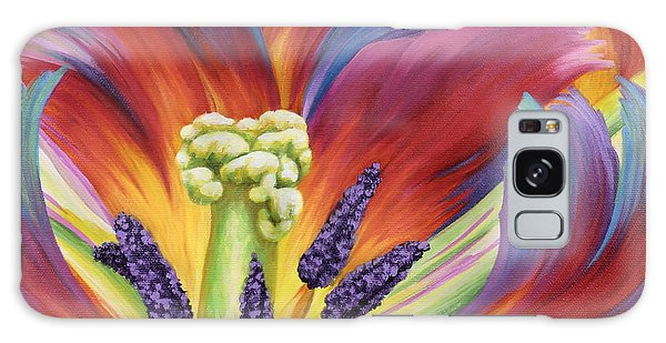 Tulip Color Study Galaxy Case by Jane Girardot