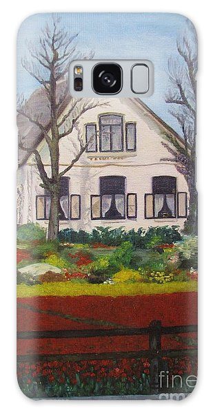 Tulip Cottage Galaxy Case