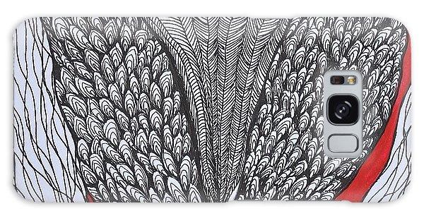 Tulip Doodle Galaxy Case