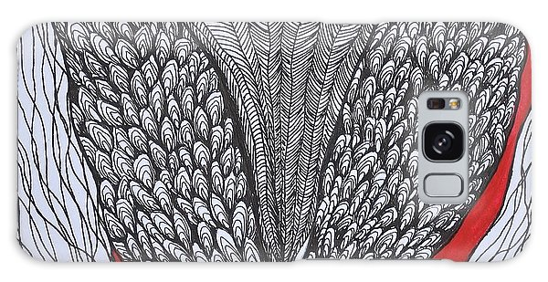 Tulip Doodle Galaxy Case by Kathleen Pio