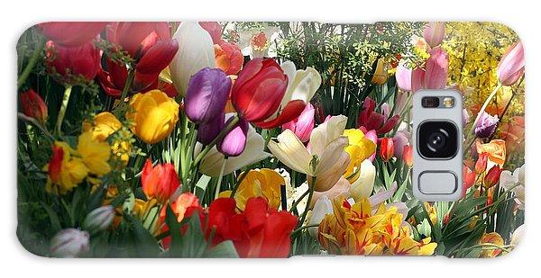 Tulip Festival Galaxy Case by Mary Lou Chmura