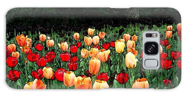 Tulip Festival  Galaxy Case