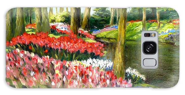 Tulip Gardens Galaxy Case