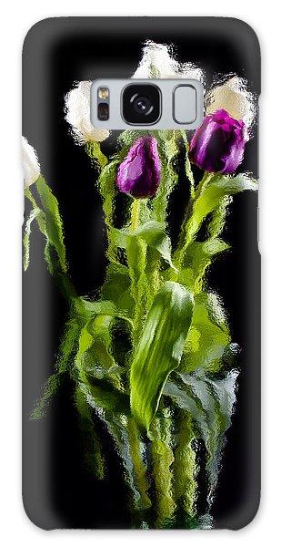 Tulip Impressions II Galaxy Case by Penny Lisowski