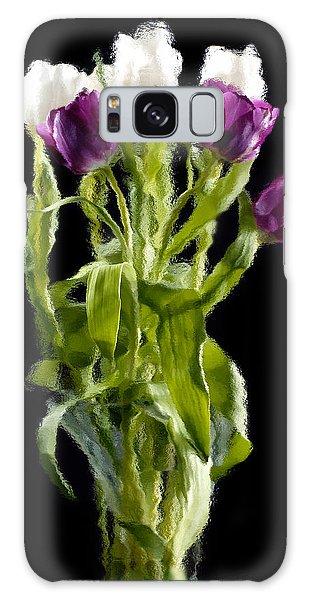 Tulip Impressions IIi Galaxy Case by Penny Lisowski