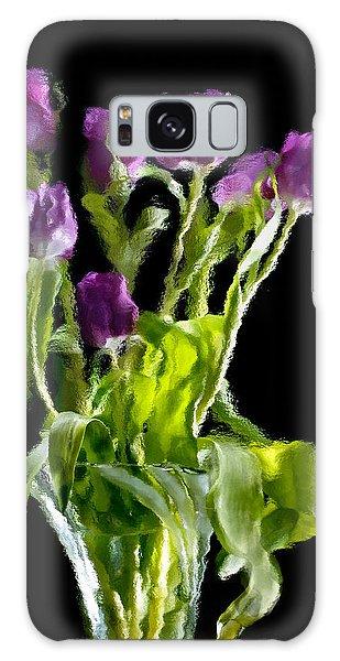 Tulip Impressions Vi Galaxy Case by Penny Lisowski