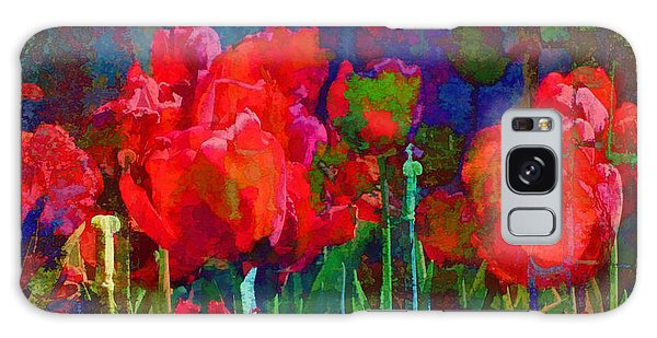 Tulip Jubilee Galaxy Case by Kathleen Holley