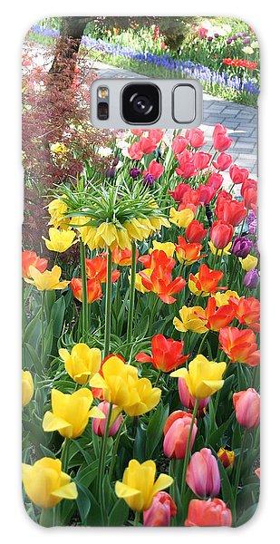Tulip Path Galaxy Case