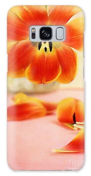 Tulip Petals Galaxy Case by Stephanie Frey